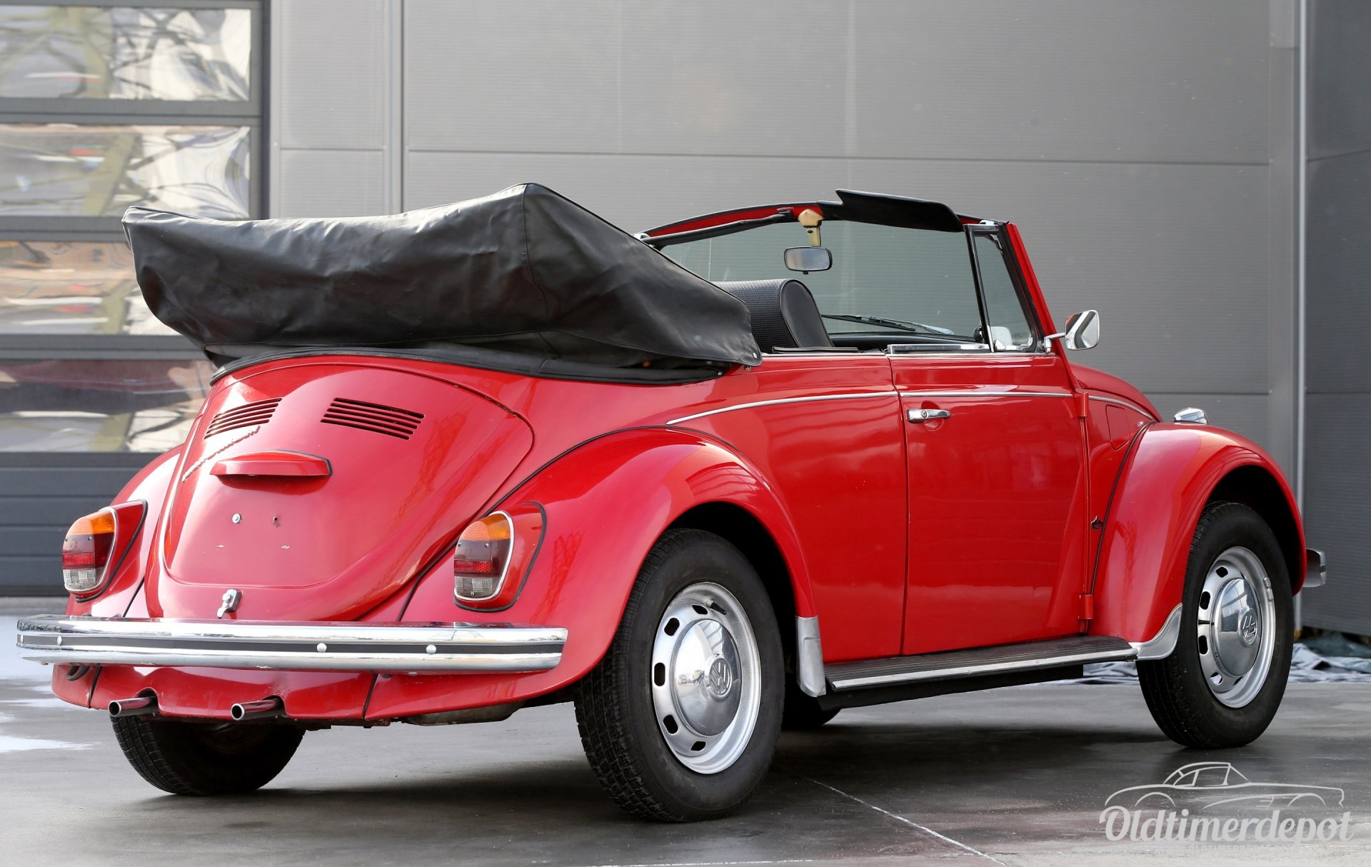 oldtimerdepot reutlingen vw k fer cabrio rot. Black Bedroom Furniture Sets. Home Design Ideas